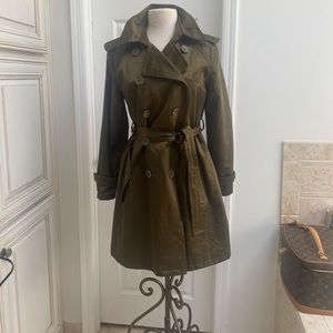 LINEA by Louis Dell'Olio Trench Coat Rain Jacket